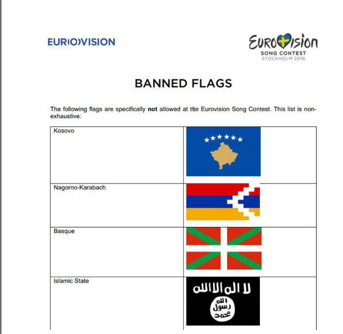 """Eurovisión, soft power y los intereses políticos: la polémica de la """"Ikurriña"""""""